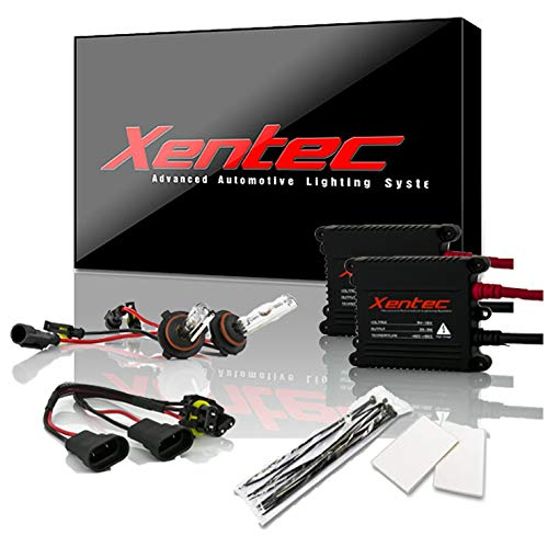 Xentec 9006 (HB4) 6000K HID Xenon Bulb bundle with 55W EPE Alloy Slim Ballast (Ultra White)