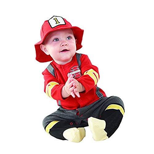 Big Dreamzzz Baby Fire Fighter 2 pièces, thème Boîte Cadeau – Baby Aspen
