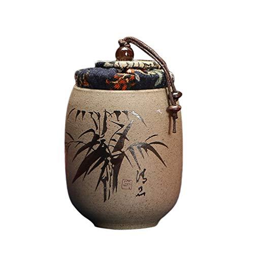 UPKOCH - Scatola da tè in Ceramica Cinese, Motivo: Fiori di Prugna, Contenitore per tè,...
