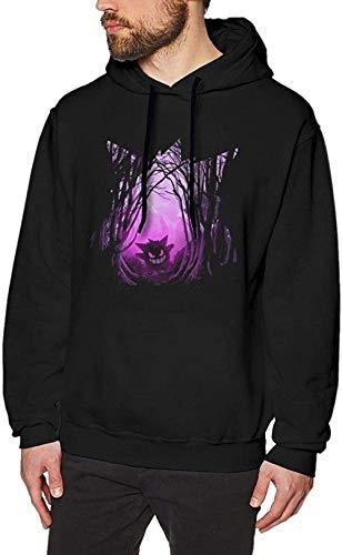 Bkckzzz Herren Realistic Anime Hoodie Unisex Bleach 3D Digitaldruck Sweatshirt Kapuzenpullover Hoodies Funny The Poisoned Forest Gengar Men s Long Sleeved Pullover Sweatshirts Hoodies-XXL