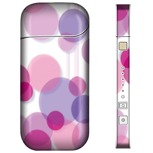 iQOS アイコス スキンシール 【 グラフィック-ピンク02 柄 】表面・裏面・側面セット 2016年発売バージョン対応