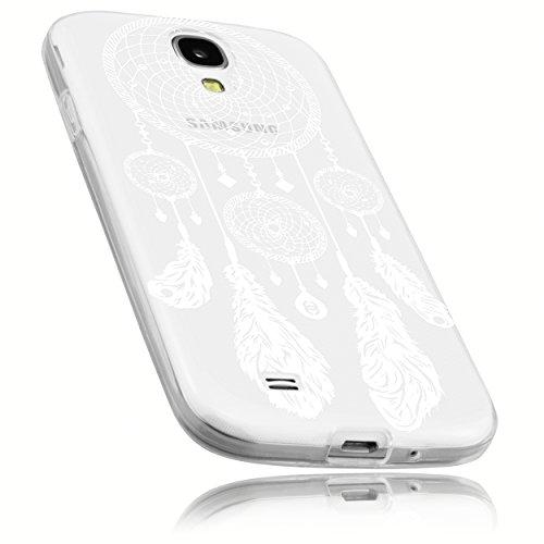 mumbi Hülle kompatibel mit Samsung Galaxy S4 Handy Case Handyhülle mit Motiv Traumfänger, transparent