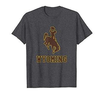 Mens Wyoming Cowboys Apparel MVP Wyoming Icon T-Shirt