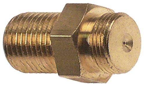 Bougie voor vloeibaar gas boring 0,2 mm vloeibaar gas M10x1 nominale waarde 20 SW 12 schroefdraad