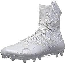 Under Armour Men's Highlight MC Football Shoe, White (100)/White, 12