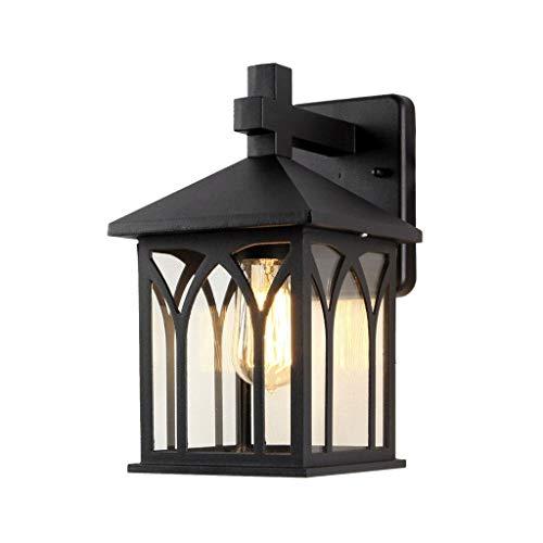 BUYAOBIAOXL Lámpara de Pared Retro La Lámpara De Pared Al Aire Libre A Prueba De Agua Llevó Luces del Pasillo De La Luz del Balcón Al Aire Libre del Balcón