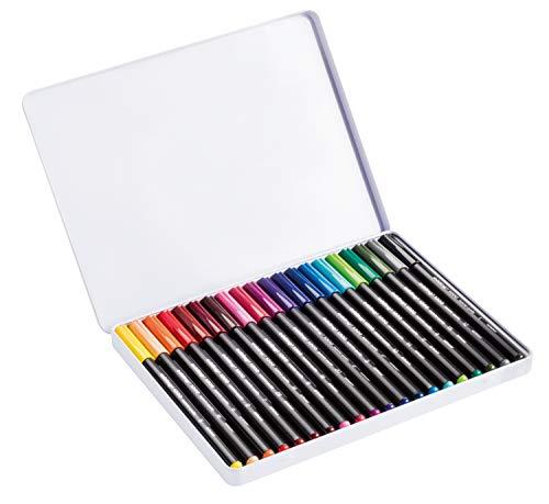 edding 4-1300-20 Fasermaler Color Pen, circa 2 mm, sortiert