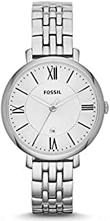 Fossil Jacqueline For Women Silver Dial Stainless Steel Band Watch - ES3433
