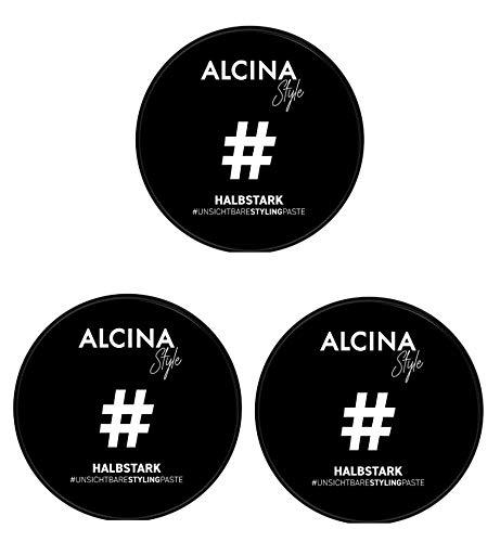 3er Unsichtbare Paste Halbstark #Style Alcina 50 ml