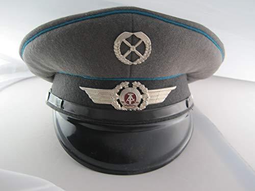 NVA Orig DDR Schirmmütze Flieger Luftwaffe Pilot Uniformen zubehör Gr. 57