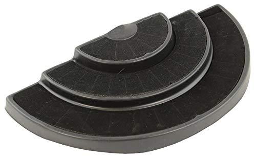 Box toont zwarte halve ronde drie gelaagde 36 ring presentatie lade toon winkel teller venster kast display