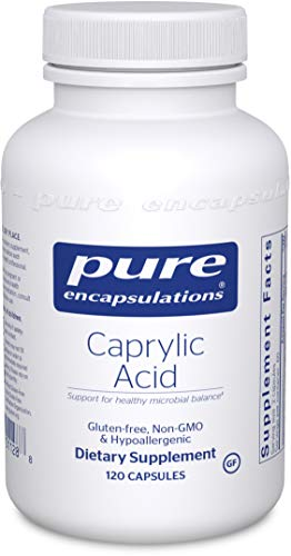 Pure Encapsulations Caprylic Acid | Supplement for Gut and Digestive Health, GI Balance, Gastrointestinal Support, and Intestinal Health* | 120 Capsules