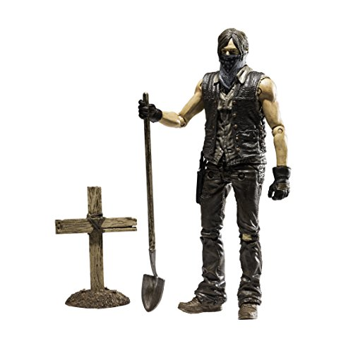 The Walking Dead Tv Series 9 - Grave Digger Dirt Daryl Dixon Action Figure (15Cm)