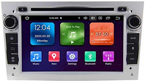 GPS Navigation Head Unit Sat Nav Auto Audio Player MP5 FM Radio Receptor Coche Estéreo De 7 Pulgadas Táctil Android 10.0 Compatible para Opel/Vauxhall/Holden,8 Core 4G+WiFi 4+64GB