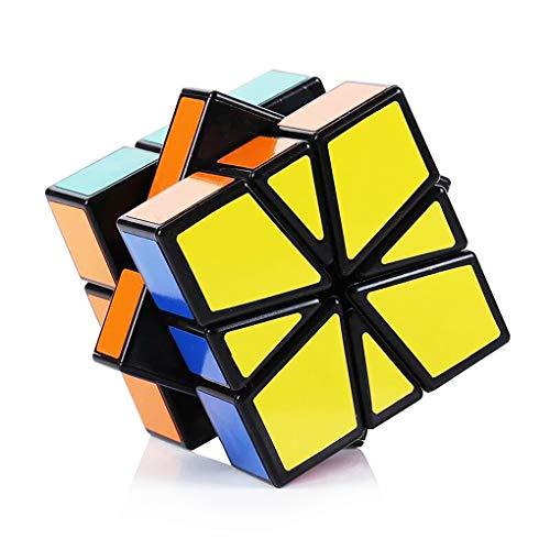 TOYESS Cubo Mágico,Square One Cube Rompecabezas Cubo de Velocidad Regalo de Adulto para Niños,Negro