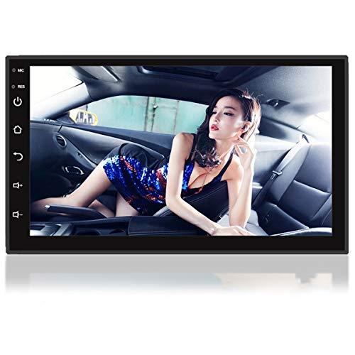 ZHBD Radio De Automóvil De Android con Bluetooth 7'Touch Screen Car Estéreo con Navegación GPS/WiFi Conectado/Dual USB/FM Radio Receptor Soporte iOS/Android