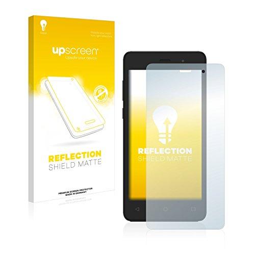 upscreen Entspiegelungs-Schutzfolie kompatibel mit Archos 45b Neon – Anti-Reflex Bildschirmschutz-Folie Matt