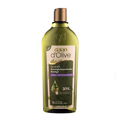 Dalan d'Olive feuchtigkeitsspendendes Duschgel - Entspannend - mit Olivenöl - 3er Pack (3x 400ml)