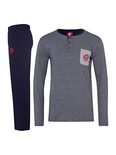 FC Bayern München Schlafanzug Navy, M