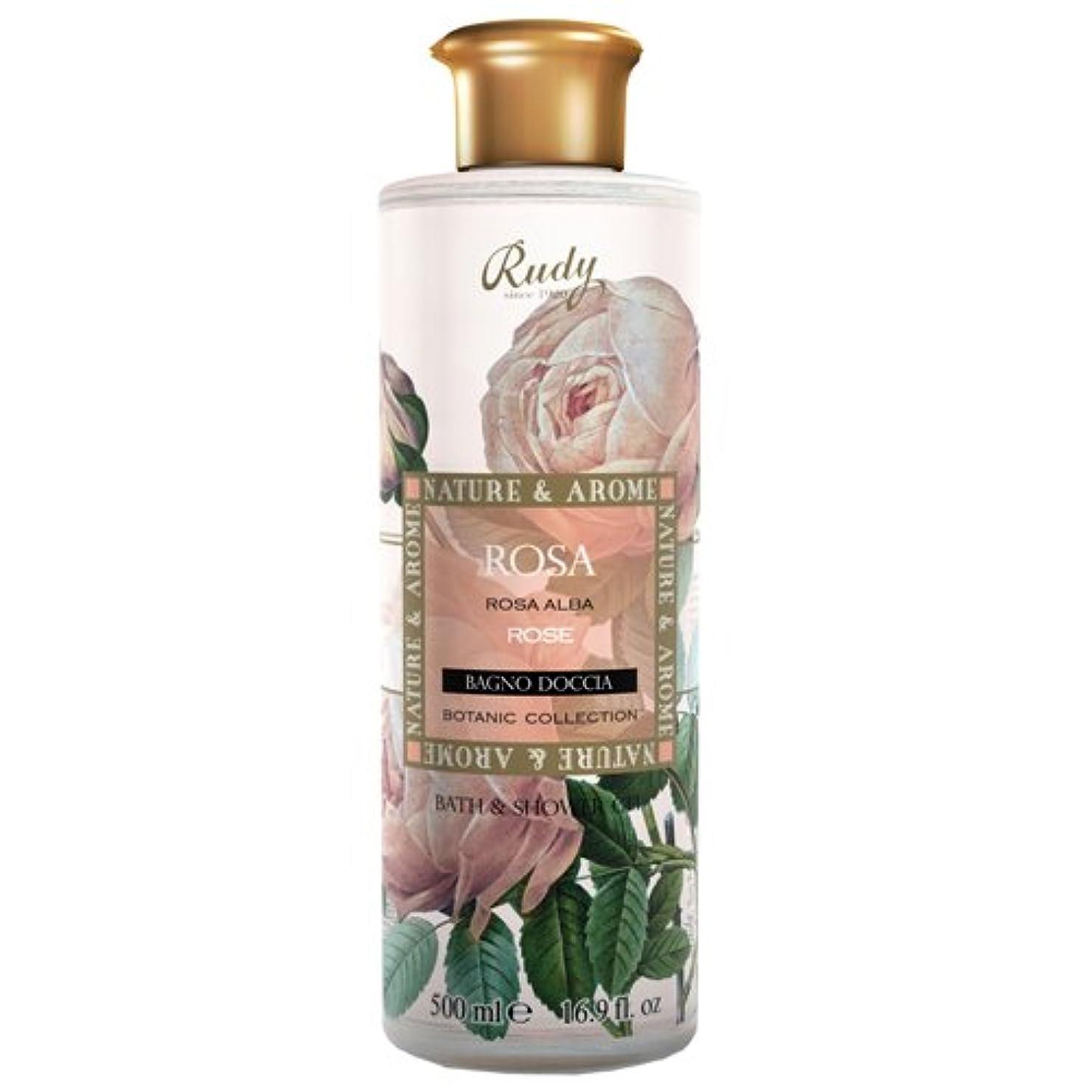 真珠のような過激派職業RUDY Nature&Arome SERIES ルディ ナチュール&アロマ Bath&Shower Gel バス&シャワージェル ローズ