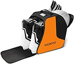 YUOIOYU Ski Boot Bag - Waterproof Snowboard Boots Bag, Perfect Gear Travel Shoulder Bag with Waterproof Exterior & Bottom Suitable for Men/Women/Youth