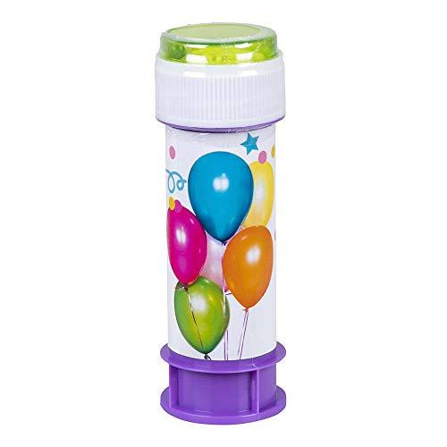 Boland 31013 - Seifenblasen, Inhalt 60 ml, Blasengebläse, Kindergeburtstag, Bubbles, Hochzeit