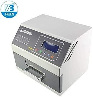 Soldering Drawer Type Lead Free Reflow Soldering Machine Lead Free SMT Mini Desktop Reflow Oven with Temperature Testing T200c+ Desktop