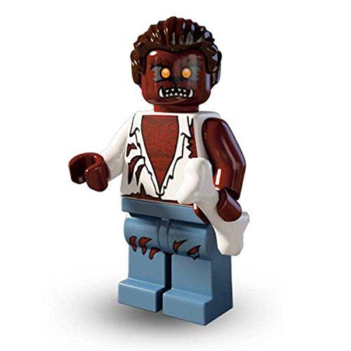 LEGO 8804 Minifigures Serie 4 – Figura de lobo mannaro Mini Action