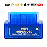 ELM327 V2.1 USB OBD2 Coder Reader Scanner Super Mini elm 327 V1.5tooth WiFi