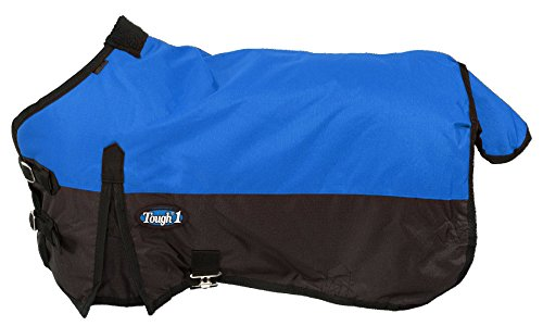 Tough 1 600D Waterproof Poly Miniature Turnout Blanket, Royal Blue, 50'