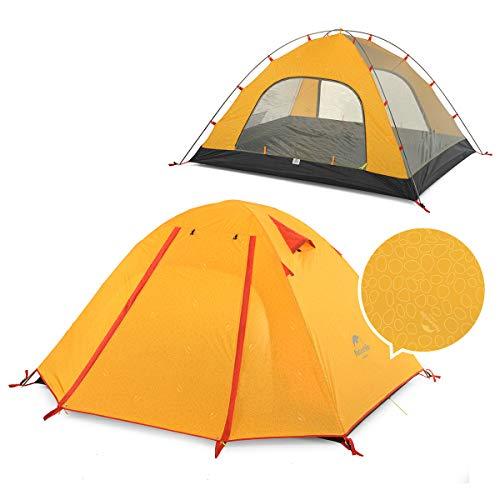 Naturehike 正規店 ネイチャーハイク 3人 超軽量 自立式 テント Pシリーズ PU3000 二層構造 キャンプ アウ...