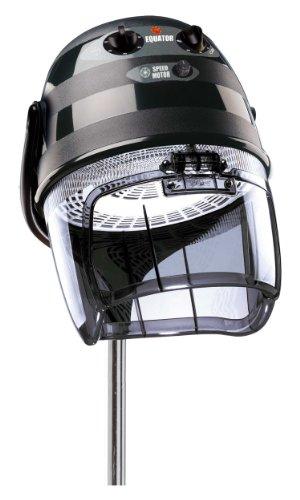 Trockenhaube Equator 3000 schwarz 2 Geschwindigkeiten mit Stativ Frischluftsystem Zeitschaltuhr Thermoschutz