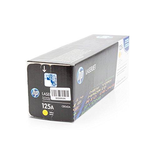 Hewlett Packard -HP- Color Laserjet CP1514N (CB542A) original Toner-Kartusche - Gelb/Yellow