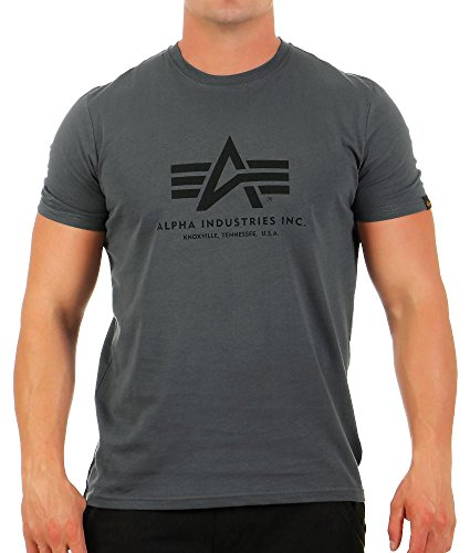 ALPHA INDUSTRIES Herren T-Shirt grau M