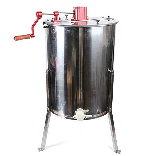 Manuelle Honigschleuder Tangentialschleuder 4 Rahmen Waben Honig Imker Schleuder Edelstahl Extractor Honig Zentrifuge