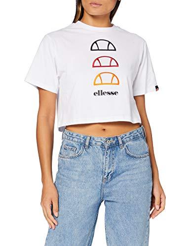 Ellesse Deway Camiseta, Mujer, Blanco, 10
