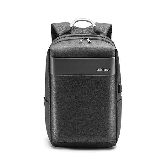 Arctic Hunter Loss Herren Business Laptop-Rucksack Daypack,Grau,Wasserabweisend,mit USB,Tablet & Laptoptaschen