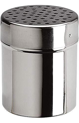 Space Home - Dispensador de Queso - Espolvoreador de Especias - Acero Inoxidable - Ø 6 cm