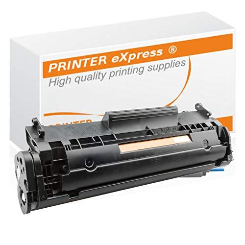 Printer-Express XXL (2.100 Seiten) Toner ersetzt HP Q2612A, 12A, Q2612X, 12X, 2612 für HP LaserJet 1010 1012 1015 1018 1020 1022 3015 3020 3030 3050 3052 3055 Drucker schwarz