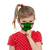 THARK Kids Cute Animal Mouth Reusable Antifog Dustproof Cycling Face Bandanas Funny Lovely Cartoon Washable Sunscreen Haze Wind Protection Face Bandanas for Boys and Girls Outdoor Activities