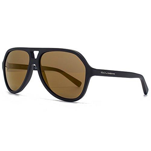 DOLCE & GABBANA Gafas de sol DG 4201 1934F9 Negro mate 57MM