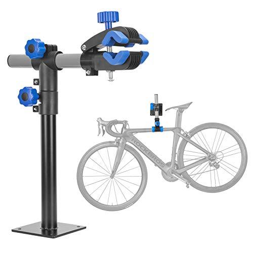 ROCKBROS Bike Repair Stand Wall Workbench Mount Rack Workstand Bike Clamp Height Adjustable Home Bicycle Maintenance Rack Bike Repair Rack for Road Mountain Bikes