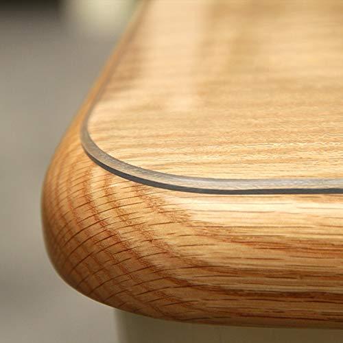 Stuhlmatten GUORRUI Bodenschutzmatte Filet Klar Kratzfest Transparente Tischdecke Geruchlos Harte Böden, 2 Stärken (Color : 2mm, Size : 110×190cm)