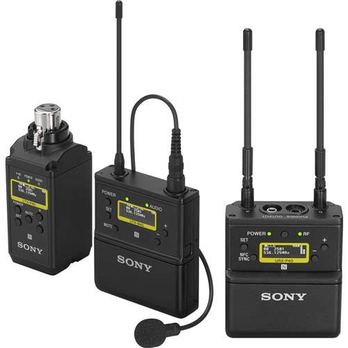 Sony UWP-D, 1 Wireless Microphone System, Black, One Size (UWP-D26/14)