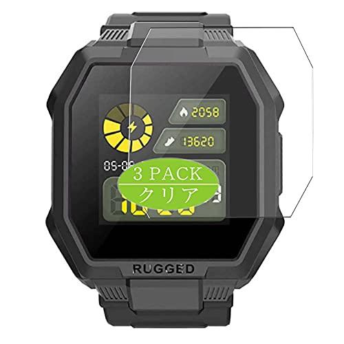 "VacFun 3 Piezas Protector de Pantalla, compatible con Blackview R6 BV-R6 1.3"" smart watch smartwatch, Screen Protector Película Protectora (Not Cristal Templado Funda Carcasa)"