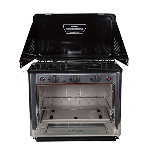 Stansport Propane Outdoor Camp Oven and 2 Burner Range 5