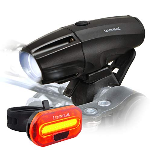 Lumintrail Super Bright USB Rechargeable LED Bike...