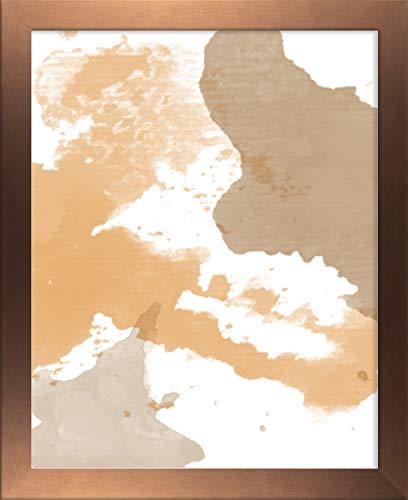 Misano rand fotolijst 7,9x15 inch (20 x 38 cm) met antireflecterende kunststof glas Perspex 15x7,9 inch fotolijst Kleur koper Decor