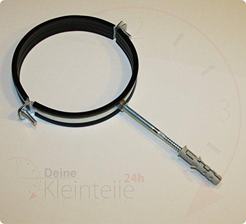 Deine-Kleinteile-24 Lot de 5 colliers de serrage 1 1/2\