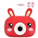 Aqiku Bubble Machine Toys, Animal Cartoon Camera Bubble Blower for Kids Toddlers Soft Lighting Music Sounds Rich Bubbles Over 1000 Bubbles Per Minute for Parties Wedding Indoor Outdoor Games